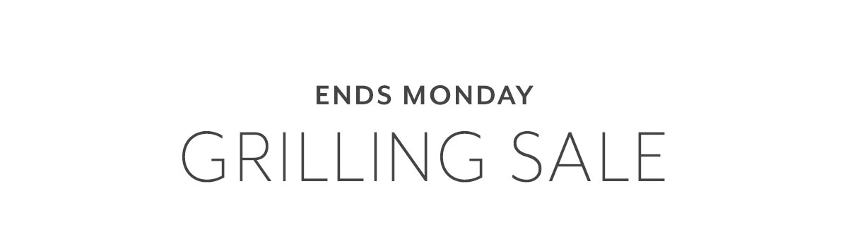 Grilling Sale