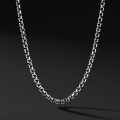 Medium Box Chain Necklace, 3.6mm