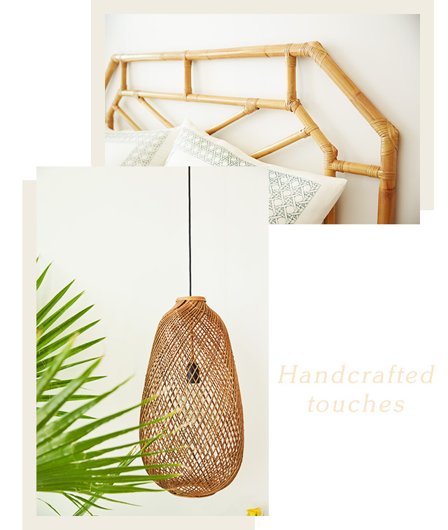 Handcrafted touches