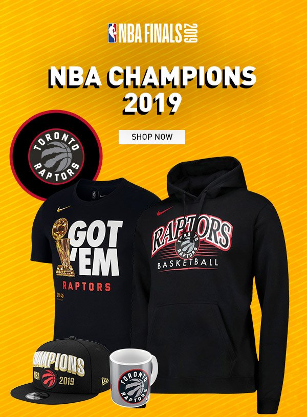 new product b5119 56f6b NBA Europe Store: Toronto Raptors NBA Champions 2019 | Milled
