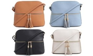 MKII Women's Bella Tassel Charm Crossbody Purse
