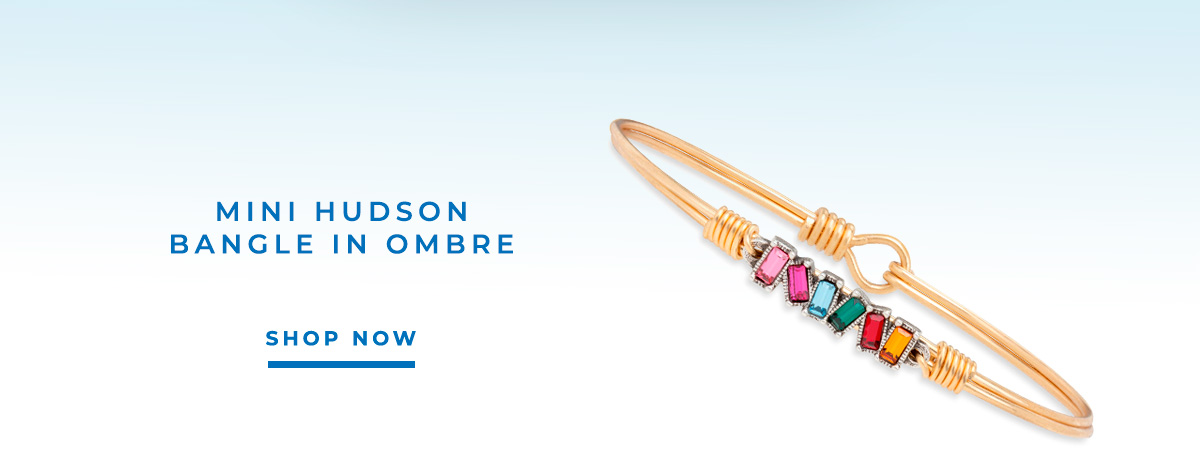 MINI HUDSON BANGLE IN OMBRE | SHOP NOW