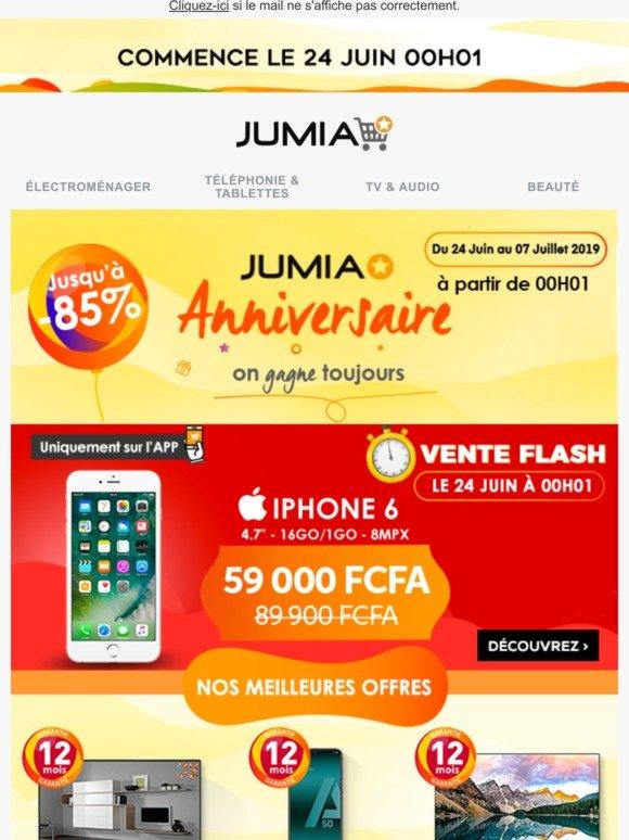 Jumiaci Jumia Anniversaire Découvrez Le Calendrier Des Offres