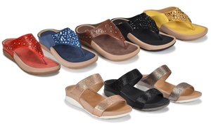 Olive Street Molly or Tina Women's Comfort Sandals | Exclusive