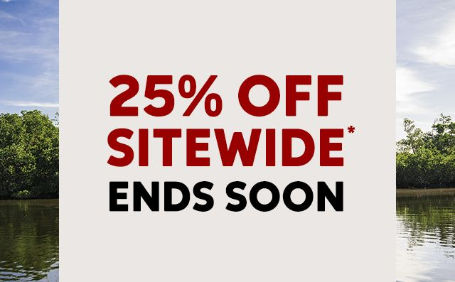 25 percent off ends soon