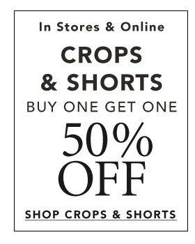 Shop Crops & Shorts