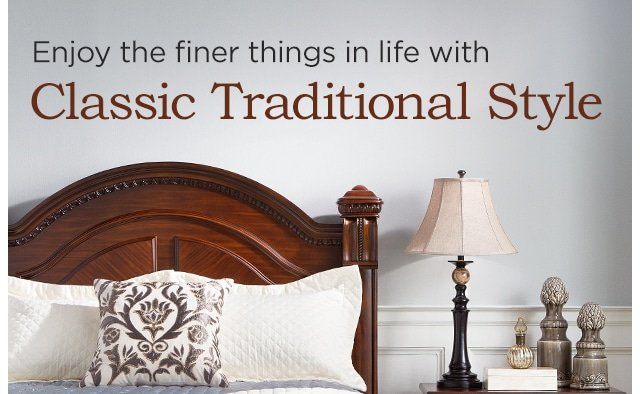 Enjoy The Finer Things in Life with Classic Traditional Style