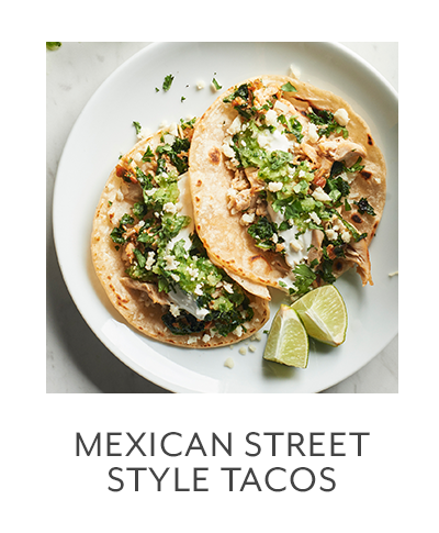 Class: Mexican Street Style Tacos
