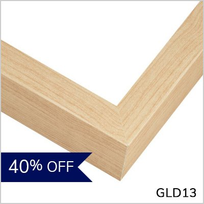 Maple Gallery Frame - GLD13