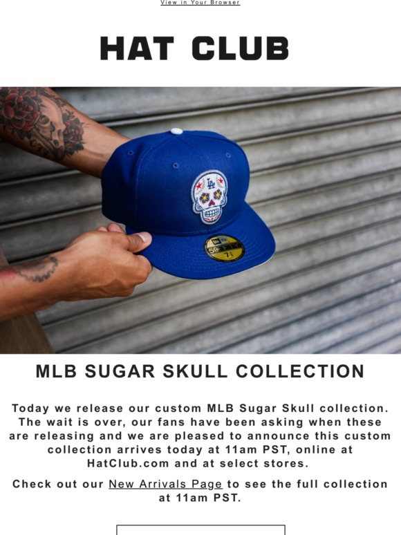 bf0276414 Hat Club: 💀MLB Sugar Skull Customs Are Here 💀 | Milled