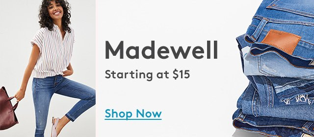 Madewell | Starting at $15 | Shop Now