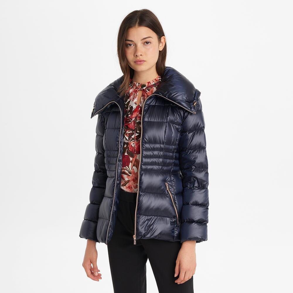 Iridescent Packable Down Jacket