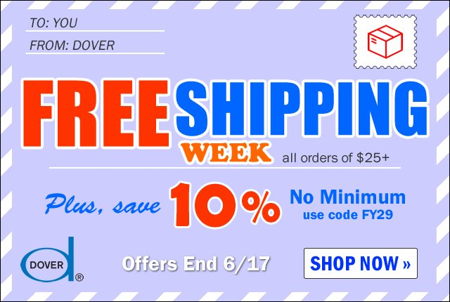 Save 10% & Free Shipping Special