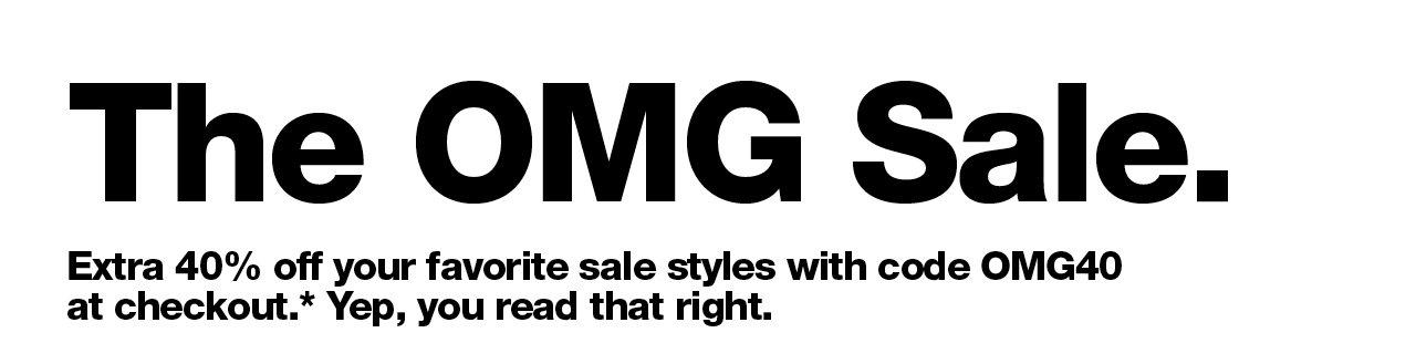 The OMG Sale