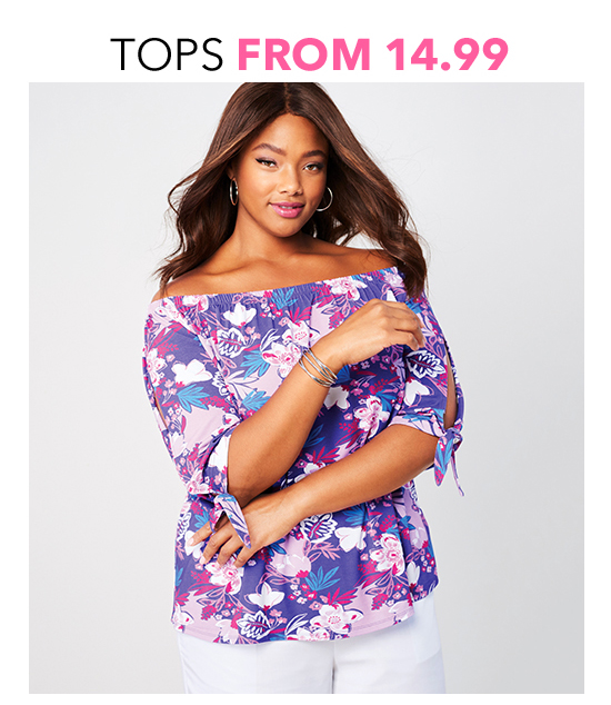 Shop Tops from $14.99