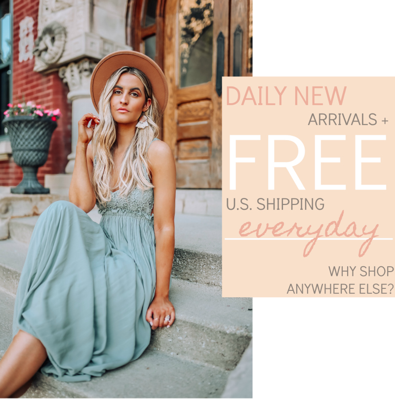 daily new arrivals and fast shipping