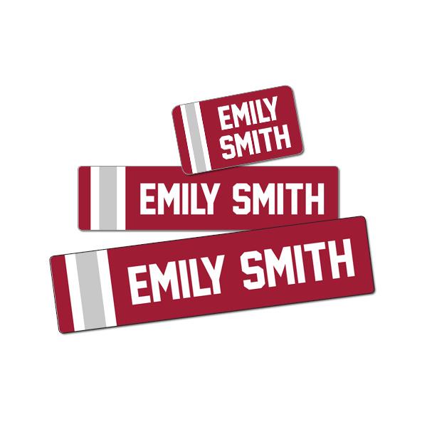 Image of University Label Pack