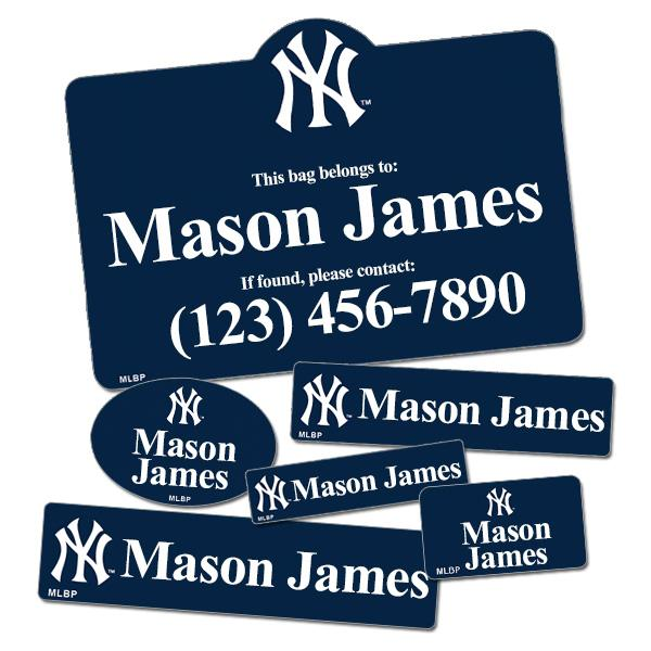 Image of Baseball Label Pack