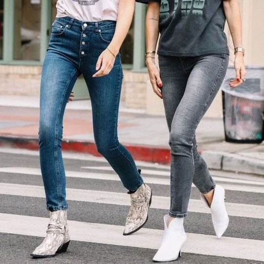 The 4 Comfortable Shoe Styles That Look Best With Skinny Jeans