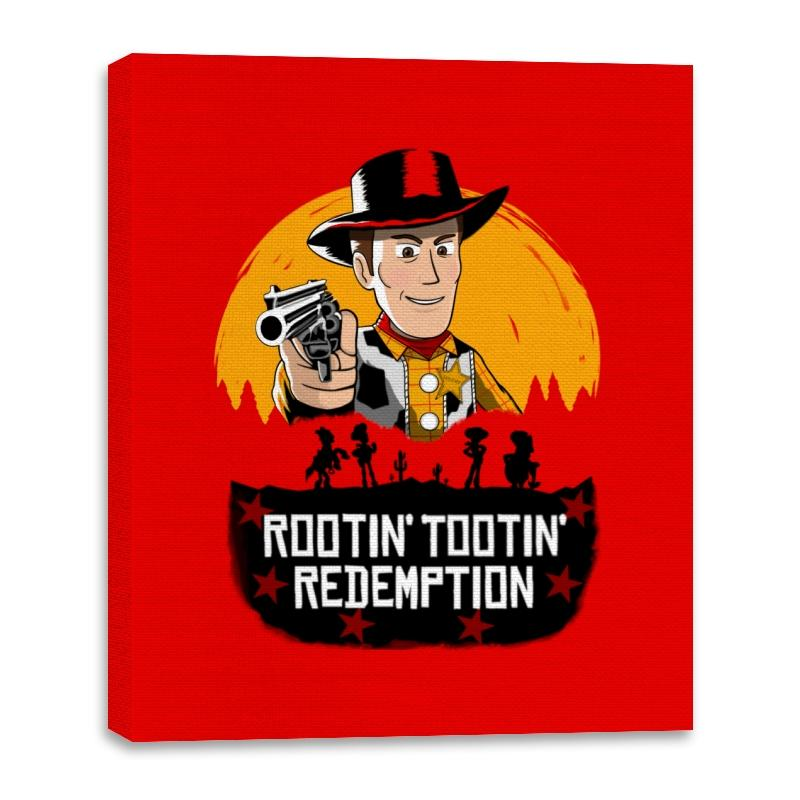 Image of Rootin' Tootin' Redemption - Canvas Wraps