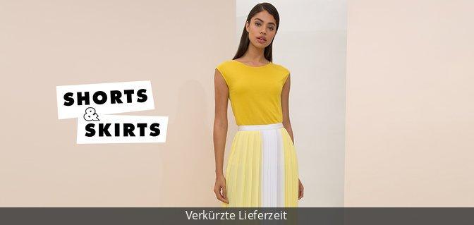 Shorts vs. Skirts