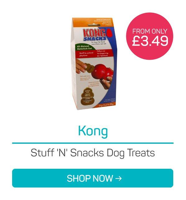 Kong Stuff 'N' Snacks Dog Treats