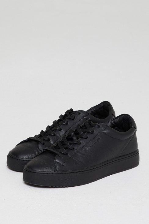 Perennial Pure Black Sneaker