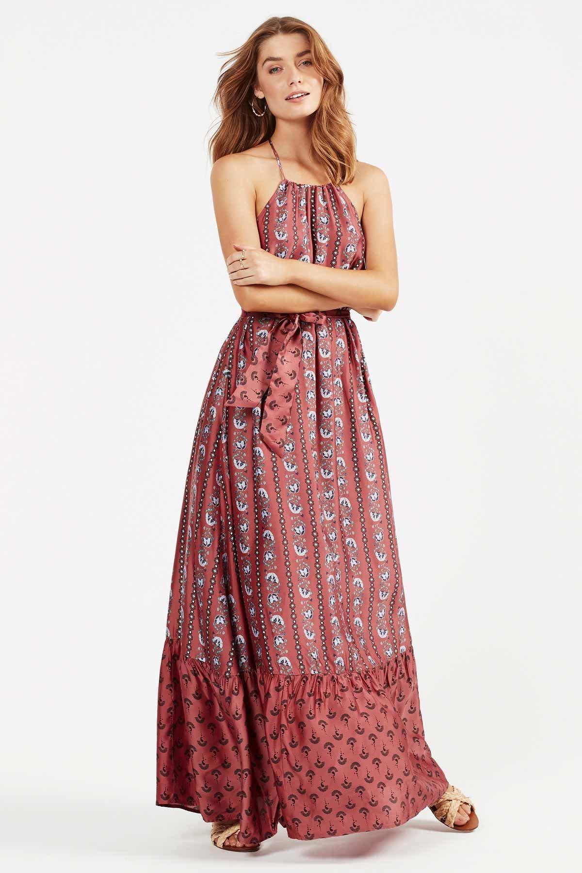 Image of Sunil Maxi Dress - Rose