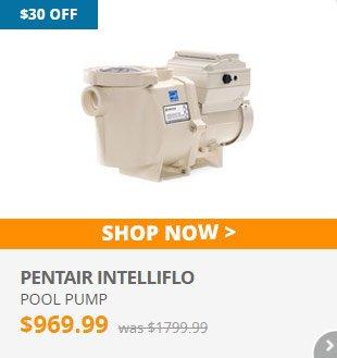 $30 Off Pentair Intelliflo