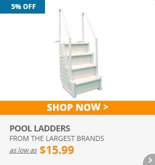 5% Off Pool Ladders