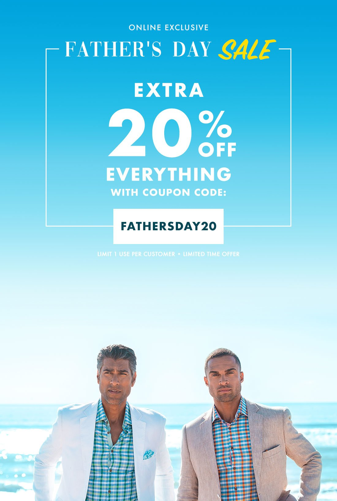 13bd24de91aba2 Bachrach: Dad's Big Day | Extra 20% Off Everything - Coupon Inside ...