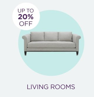 Up to 20% Off Living Rooms