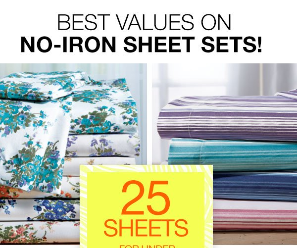 25 Sheets for under $25