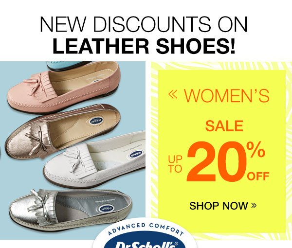 Women's Dr. Scholl's® up to 20% OFF