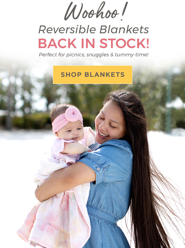 Reversible Blankets are back!