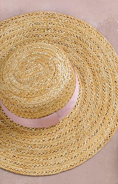 Savannah Ribbon Straw Hat