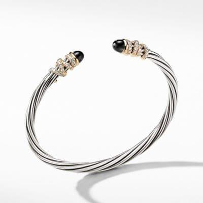Helena Bracelet with Black Onyx and Diamonds