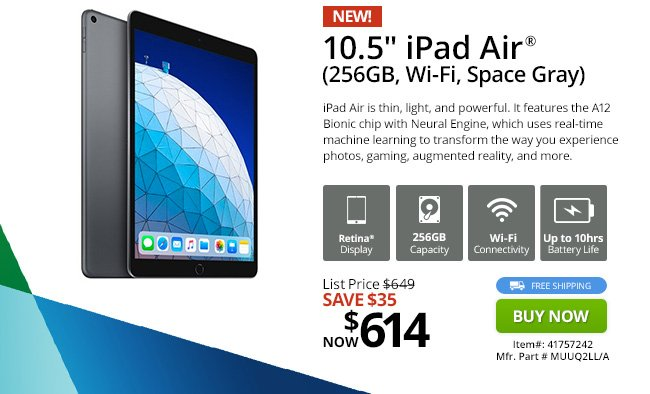 MacMall: Apple Deal Of The Week! iPad Air $35 Off! | Milled