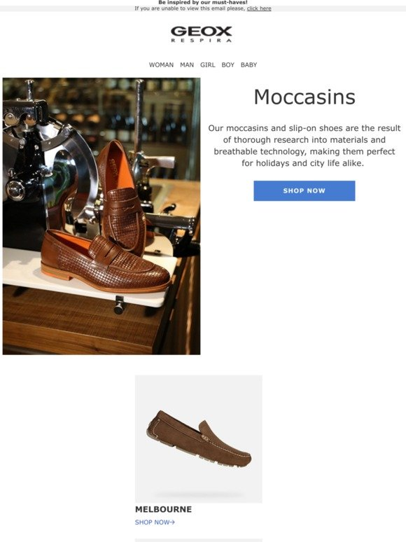 mantequilla exposición chocar  Geox (UK) Email Newsletters: Shop Sales, Discounts, and Coupon Codes - Page  6