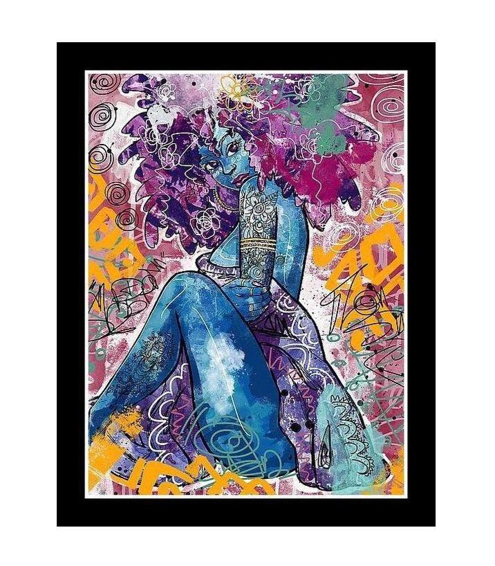 Black Love Justin Copeland African-American Art Print