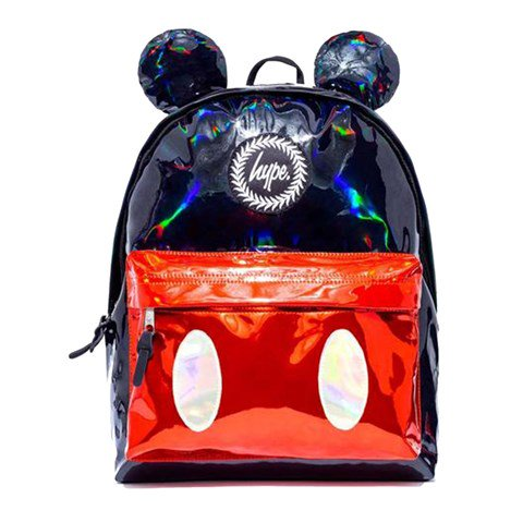 Hype Mickey Mouse Red and Black Ears Backpack