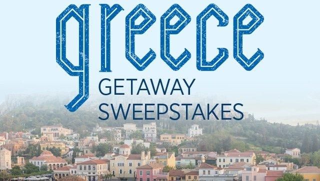 Greece Getaway Sweepstakes