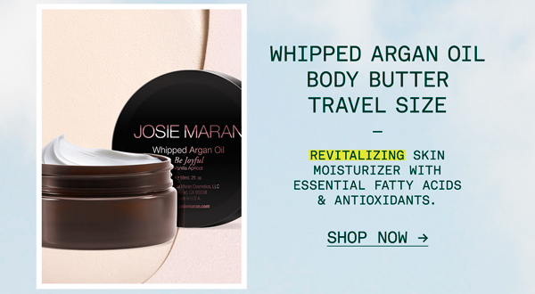 Whipped Argan Oil Body Butter Travel Size