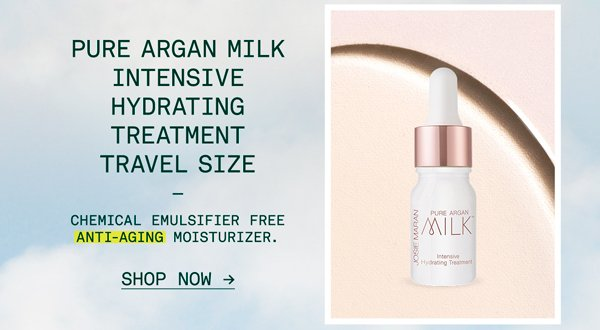 Pure Argan Milk Intensive Hydrating Treatment Travel Size