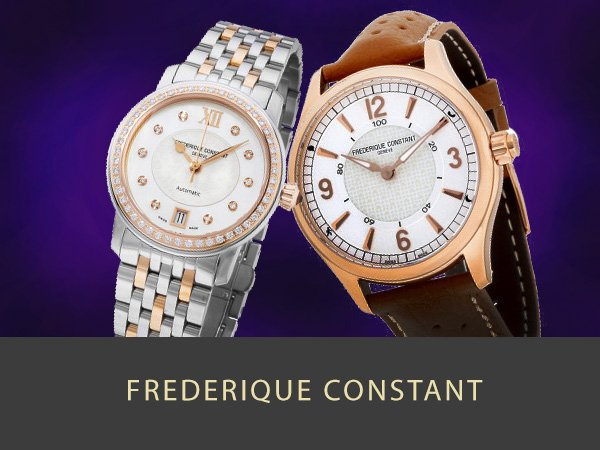 Shop Frederique Constant  Mens and Womens watches