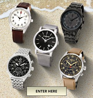 Enter to win $2425 in Luxury Watches from certifiedwatchstore.com