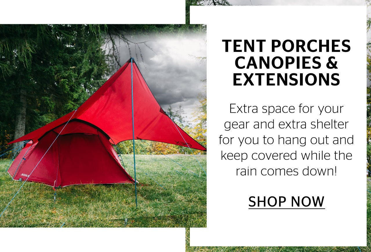 Tent Porches Canopies & Extensions