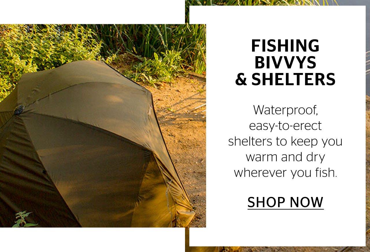 Fishing Bivvys & Shelters