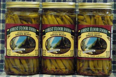 Spiced Pickled Green Beans - 3 Jars available on WisconsinMade Artisan Collective