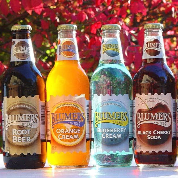 Blumer's Premium Soda - 24 Bottles available on WisconsinMade Artisan Collective